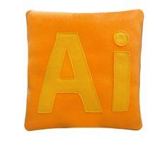 Ai5 Pillow. $18,00, via Etsy.