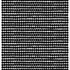 Marimekko's Räsymatto fabric is decorated with Maija Louekari's beautiful black and white pattern, and it is made of thick cotton. Räsymatto, Finnish for rag rugs, depicts the texture of traditional rag rugs in a delightful manner. Nordic Interior Design, Scandinavian Design, Marimekko Fabric, Black And White Fabric, Black White, African Textiles, Textile Artists, Linocut Prints, Textures Patterns