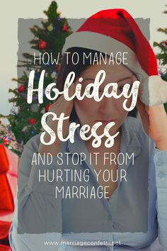 If you are looking for a more peaceful Christmas holiday, you need to read this! #marriageconfetti #marriage #lowstressChristmas #stressfree #Christmas