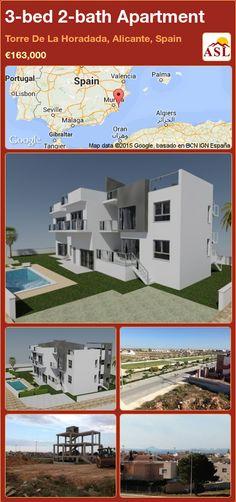 Apartment for Sale in Torre De La Horadada, Alicante, Spain with 3 bedrooms, 2 bathrooms - A Spanish Life Apartments For Sale, Casablanca, Valencia, Barcelona, Alicante Spain, Penthouse Apartment, New Builds, Ground Floor, Palmas