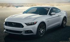 2015 Mustang: 50th Anniversary Edition Could Be Launched in Wimbledon White