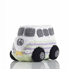 Fair Trade Campervan Toy | Fair Trade Stuffed Toys | Greenheart Shop