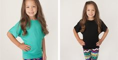 Kids Dolman tops sizes 4-11 in 7 colors! Anyone know where I can find these top for my girls?