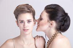 Sarah & Beate Hoop Earrings, Portrait, Jewelry, Fashion, People, Moda, Jewlery, Headshot Photography, Jewerly