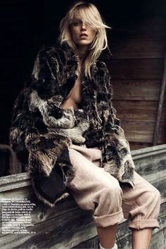 """"""" Anja Rubik by Lachlan Bailey for Vogue Paris October 2014 """""""