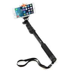 Vidpro MP-12 Selfie Stick Monopod Built-in Wired Shutter Release Smartphones Digital Cameras /& Action Cameras
