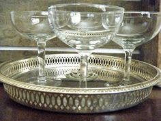 Vintage Champagne Coupe Glasses Classic and by KaiserVonVintage, $24.00
