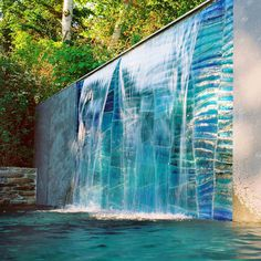 Glass Waterfall by SWON Design