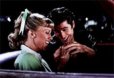"""Do You Remember """"Grease? John Travolta, Travolta Gif, Iconic Movies, Old Movies, Classic Movies, Grease Party, Grease Movie, Danny Zuko, Grease Lightening"""