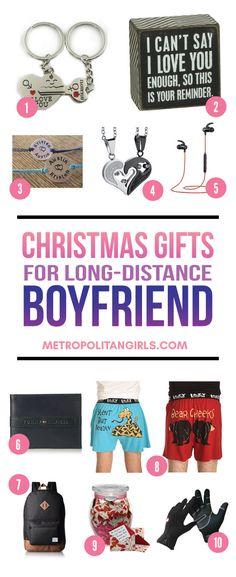Christmas Gift Ideas for Long-Distance Boyfriend 2017