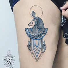 Image result for sekhmet tattoo