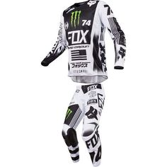 Fox Racing 2017 180 Monster/Pro Circuit SE Pant/Jersey Combo