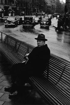 vintage everyday: 30 Black-and-White Vintage Photographs Capture Street Scenes of Stockholm in the Stockholm, Famous Photographers, Vintage Photographs, Black And White Photography, Storytelling, Monochrome, Images, Portrait, Street