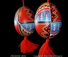 Ukrainian Easter Egg Pysanky UA09089 by Iryna Vakh from the Lviv on AllThingsUkrainian.com