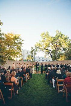 Denver Art Museum Sculpture Garden Wedding Ceremony Boyte Creative Storytellers Events Www