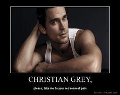 Mr Grey? You Wish  http://freakyfunkyfun.com/mr-grey-you-wish/