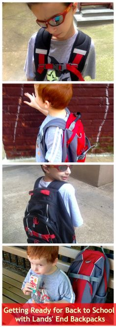 Getting Ready for Back To School with Lands' End Backpacks @landsendus #landsend #backtoschool @LandsEndPR
