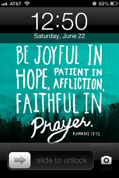 I had the idea of making the lock screen wallpaper on my iPhone a different Bible verse each week, so I can work on memorization!
