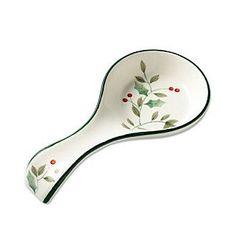 Pfaltzgraff® Winterberry Spoon Rest