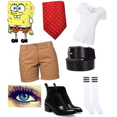 Turn SpongeBob's iconic outfit into a trendy fashion statement!