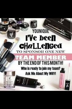 Younique's mission is to uplift, empower, validate, and ultimately build self-esteem in women around the world through high-quality products that encourage both inner and outer beauty. 3d Mascara, 3d Fiber Lashes, 3d Fiber Lash Mascara, Mascara Younique, Lucrative Lip Gloss, Join Younique, Younique Presenter, Challenge Me, Team Member