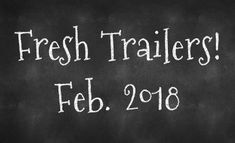 Fresh Trailers – February 2018 Releases - https://www.eatyourcomics.com/2018/01/29/fresh-trailers-february-2018-releases/  #Comics, #Marvel, #MovieNews, #MovieTrailers, #Movies, #Previews