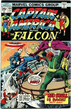 Captain America And The Falcon #184