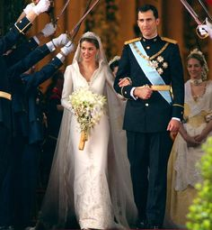 15 vestidos de noiva da realeza | Princesas reais - Princesa Letizia Ortiz – Espanha