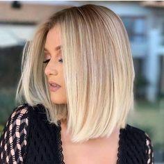 Ash Blonde Bob, Blonde Roots, Short Blonde, Purple Shampoo For Blondes, Bobs Blondes, Natural Hair Styles, Short Hair Styles, Blonder Bob, Lace Hair