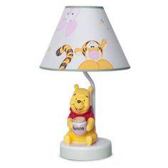 Peeking Pooh Premier Lamp and Shade