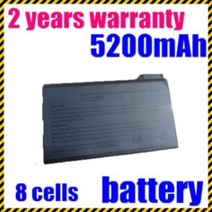 JIGU Hot Replacement 8 Cells Laptop Battery FOR DELL Latitude C640 C800 C810 C840 CP Series CPi D233 CPm 233ST