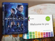3 will win a $139.99 copy of ANNIHILATION on Blu-ray Combo Pack and a 23andMe Ancestry Kit! Discover where your ancestors lived 500+ years ago and explore your DNA Family!