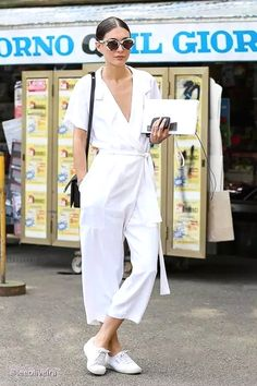 Summer Must-Have: The White Jumpsuit