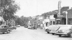 North Cascade Street, Osceola, Wisconsin, 1940's