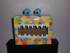 """This is MY """"Tattle Monster"""" I made for my class from an idea from http://gigglesgalorenmore.blogspot.com/2011/08/tattle-monster.html"""