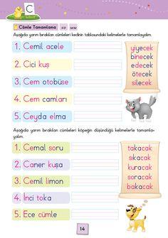 1. Sınıf Konu Anlatım SES FASİKÜLLERİ Worksheets, Homeschool, Exercise, Education, Reading, Books, Google, Turkish Language, Ejercicio
