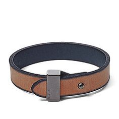 Reversible Leather Bracelet