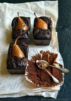 Chi ha rubato le crostate?: Torta vegana al cacao, zucca e pere ed un dolce Autunno a tutti!