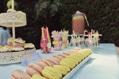 Juno's Naming Day & Pou's 3rd Birthday // Photography by Eva Kourou // Pink Lemonade Dessert Table