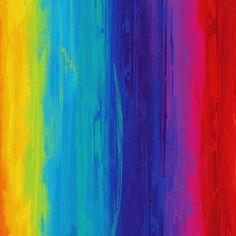 Rainbow Wallpaper, Colorful Wallpaper, Novelty Fabric, Rainbow Print, Shades Of Blue, Printed Cotton, Poppies, Printing On Fabric, Digital Prints