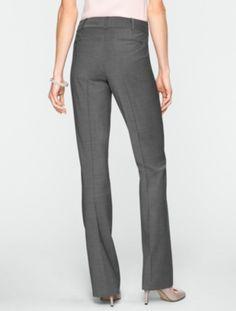 Talbots - Heritage Seasonless Wool Bootcut Pants | Seasonless Wool-Blend |