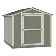 Tuff Shed Installed The Tahoe Series Standard Ranch 8 Ft X 10 Ft X 7 Ft 10 In Painted Wood Storage Building Shed 8x10 Sr E1 The Home Depot In 2020
