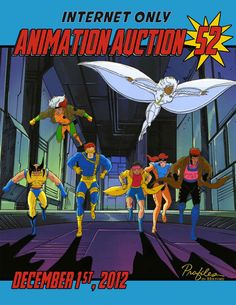 Animation Auction 52, 12-1-12  https://www.profilesinhistory.com/auctions/marvel-comics-animation-auction-52-internet-only/