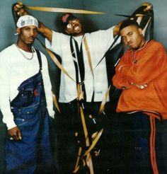 The Evolution of Denim in Hip-Hop - Overalls get thugged out.