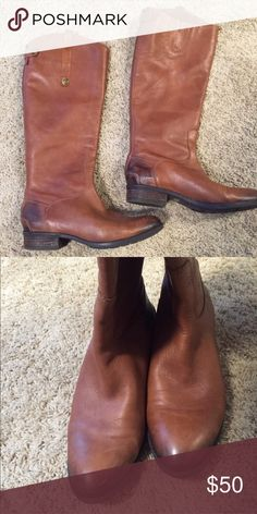 Sam Edelman knee high riding boots-Penny model. Super cute, and super comfortable Sam Edelman Penny riding boots. Love them but I just have way too many boots! Sam Edelman Shoes Heeled Boots