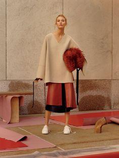 Jamie Hawesworth + Karlie Kloss + Vogue