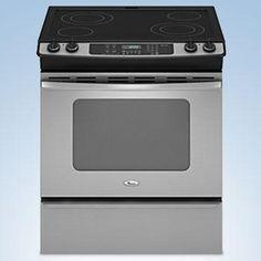 Whirlpool® 30'' Slide-In Range, Stainless Steel, YGY397LXUS - Sears