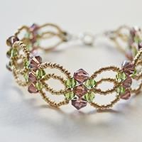 This Pandahall tutorial will show you how to make a seed bead and glass bead flower bracelet. Hope you like it and enjoy the DIY process.