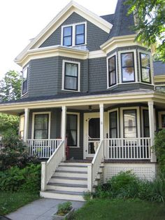 Victorian Houses Are Eye Candy | Victorian house, Victorian and ...