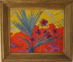 Larionov Mikhail (1881 - 1964) Abstract Composition with Flowers